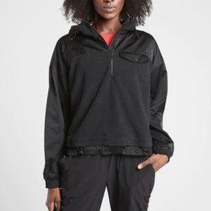 ATHLETA zion microfleece 1/2 zip pullover